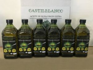 Caja de Aceite de 6 botellas de 2 litros